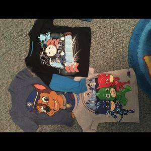 Other - 3 shirt character lot 2T